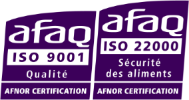 Double certification ISO 9001 et ISO 22000